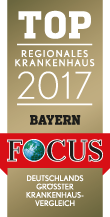 Top Regionales Krankenhaus Bayern 2017 Siegel