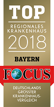 Top Regionales Krankenhaus Bayern 2018 Siegel