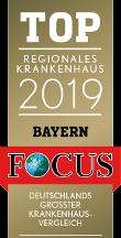 Top Regionales Krankenhaus Bayern 2019 Siegel