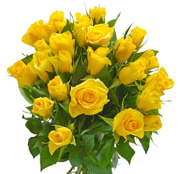 Blumenstrauß mit gelben Blumen